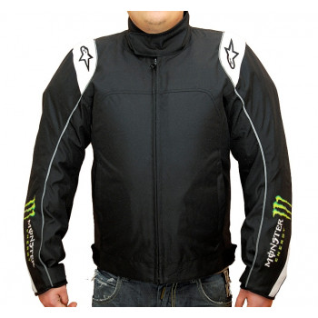 Мотокуртка Alpinestars CHASE Black-Green XL
