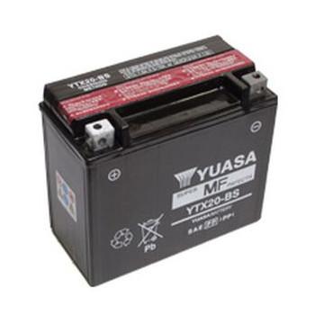 Мото аккумулятор YUASA YTX20-BS