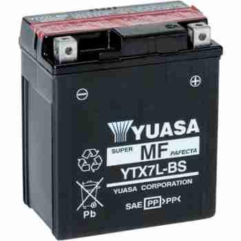 фото 2 Аккумуляторы для мотоциклов Мото аккумулятор YUASA YTX7L-BS