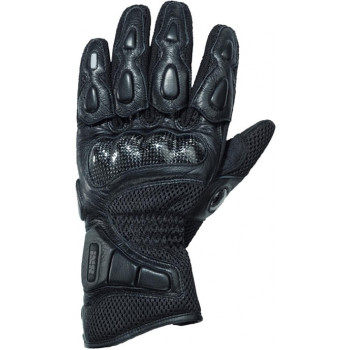 Мотоперчатки IXS Carbon Mesh II Black DS