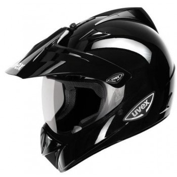 Мотошлем UVEX Enduro Black metallic XS
