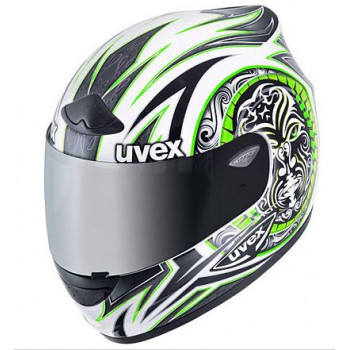 Мотошлем UVEX Wing RS 745 White-Green shiny XL