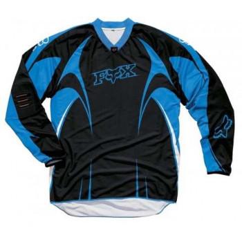 Кроссовая футболка (джерси) FOX SFX Black-Blue S