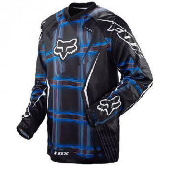 Кроссовая футболка (джерси) FOX HC Blue-Black S