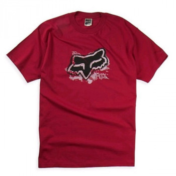Футболка FOX Mischief s/s Tee Red XL