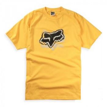Футболка FOX Mischief s/s Tee Yellow S