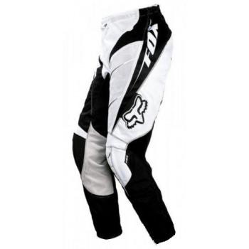 Кроссовые штаны FOX Vented Strafer Black-White W28