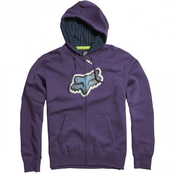 Толстовка FOX Ando Zip Front Fleece Purple L