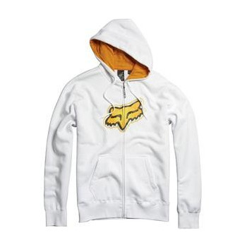 Толстовка FOX Ando Zip Front Fleece White M
