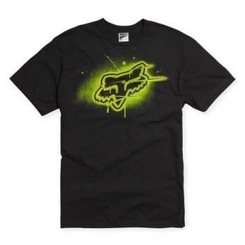 Футболка FOX Blamo s/s Tee Black-Green M