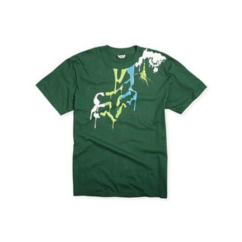 Футболка FOX Genetic Paint Bucket s/s Tee Green M