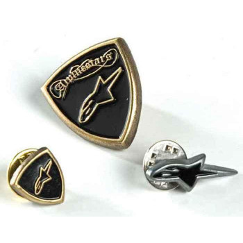 Набор значков Alpinestars Pin Set Black