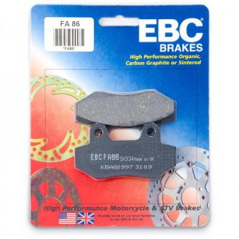 Колодки тормозные дисковые EBC FA086