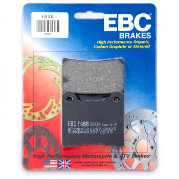 Колодки тормозные дисковые EBC FA088