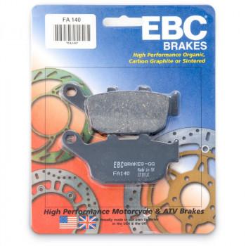 Колодки тормозные дисковые EBC FA140