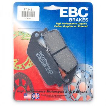 Колодки тормозные дисковые EBC FA142