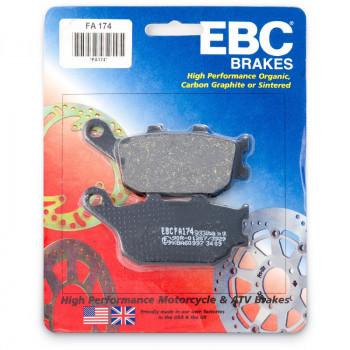 Колодки тормозные дисковые EBC FA174