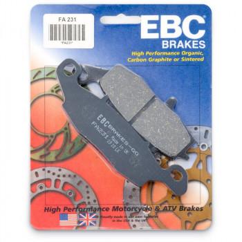 Колодки тормозные дисковые EBC FA231