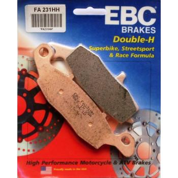 Колодки тормозные дисковые EBC FA231НН
