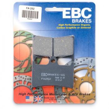 Колодки тормозные дисковые EBC FA252