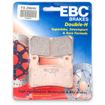 Колодки тормозные дисковые EBC FA296HH
