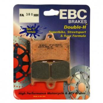 Колодки тормозные дисковые EBC FA380HH