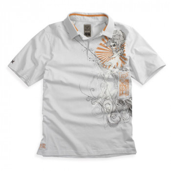 Рубашка FOX Inked s/s Polo Light Grey XL