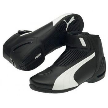 Мотоботы Puma Flat 2 v2 (301462) Black-White 42