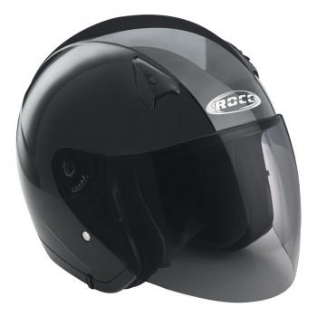 Мотошлем Rocc 130 Black XL