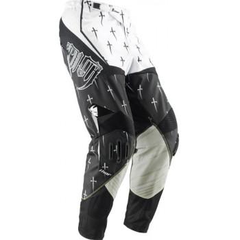 Кроссовые штаны Thor S11 Core Dagger Black-White 30