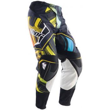 Кроссовые штаны Thor S12 Flux Ripple Black-Blue-White 30