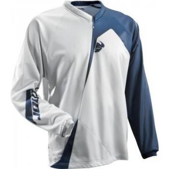 Кроссовая футболка (джерси) Thor S9 Ride Blue-White LG