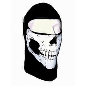 Подшлемник Schampa Lightweight Balaclava Skull Black-White