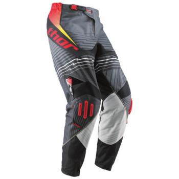 Кроссовые штаны Thor S10 Core Lifewire Black-White-Grey-Red 30