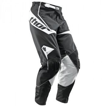 Кроссовые штаны Thor S10 Core Vent Black-White 28