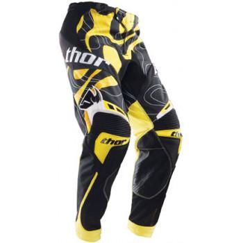 Кроссовые штаны Thor S12 Core MOD YEL Black-Yellow 32