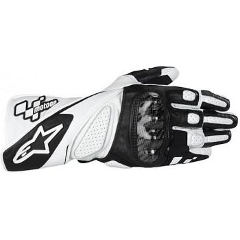 Мотоперчатки Alpinestars Losail Moto GP Black-White M