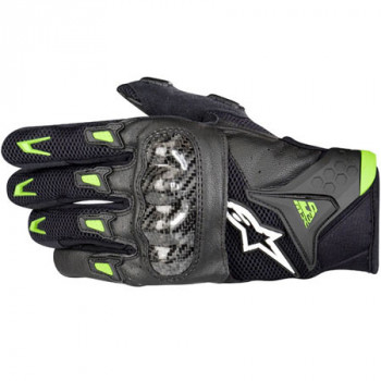 Мотоперчатки Alpinestars SMX-2 Air Carbon Black-Green M
