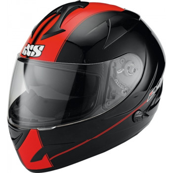 Мотошлем IXS HX 275 VIPER Black-Red-Matt XS