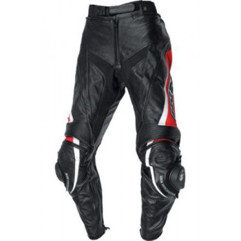Мотоштаны IXS ROBIN 2 Black-Red-White 58
