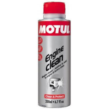 Промывка масляной системы Motul Engine Clean Moto (200ml)