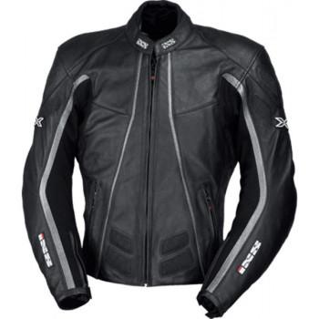 Мотокуртка IXS BLACK JACK Black-Silver 56