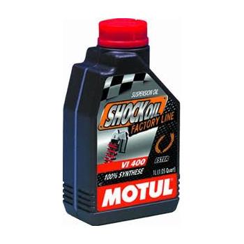 Гидравлическое масло Motul Shock Oil Factory Line SAE VI 400 (1L)