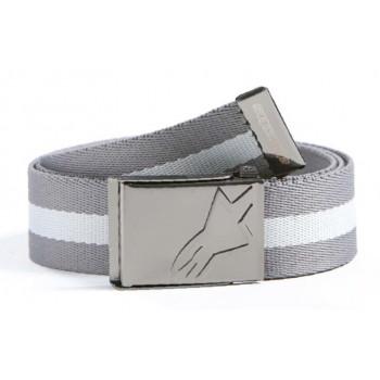 Ремень Alpinestars Striped Scout Belt Charcoal White-Grey