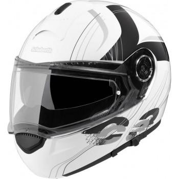 Мотошлем Schuberth C3 White-Black XXS