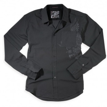 Рубашка Fox Stones L/S Woven Carbon L