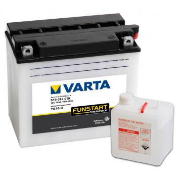 Мото аккумулятор Varta 519012019