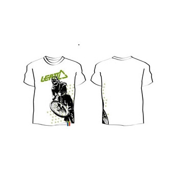 Футболка LEATT T-shirt Sam Hill White M