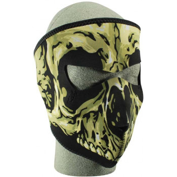 Лицевая мото маска Zan Headgear Skull