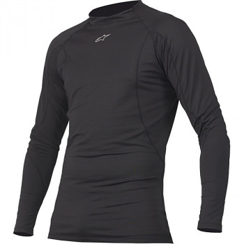 Термофутболка Alpinestars Thermal Tech Underwear Black S